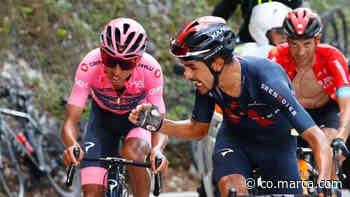 Daniel Martínez define el ciclismo de Egan Bernal, Nairo Quintana y Rigo Urán - Marca Claro Colombia