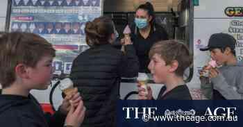 In lockdown, ice cream trucks roam the suburbs ... just don't play it too loud