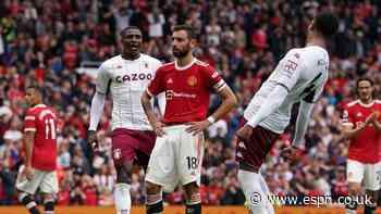 Man Utd beaten at home; Fernandes misses pen