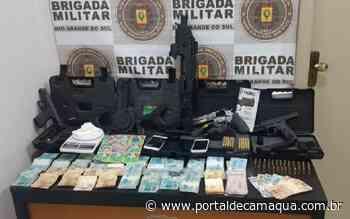 Brigada Militar prende homem em Passo Fundo por tráfico de drogas e porte e posse irregular de arma de fogo - Portal de Camaquã