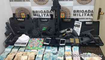 Homem é preso em Passo Fundo com diversas armas roubadas de loja em Erechim - Jornal Boa Vista