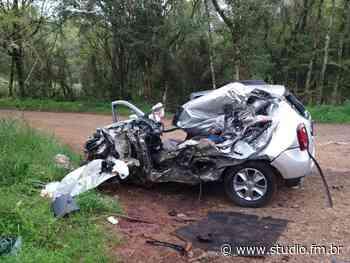 Homem morre após colisão frontal na ERS-153 entre Passo Fundo e Ernestina - Rádio Studio 87.7 FM   Studio TV   Veranópolis