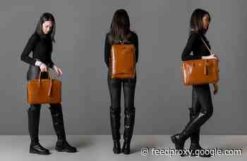 La Mansio 6-in-1 woman's bag transforms as you need