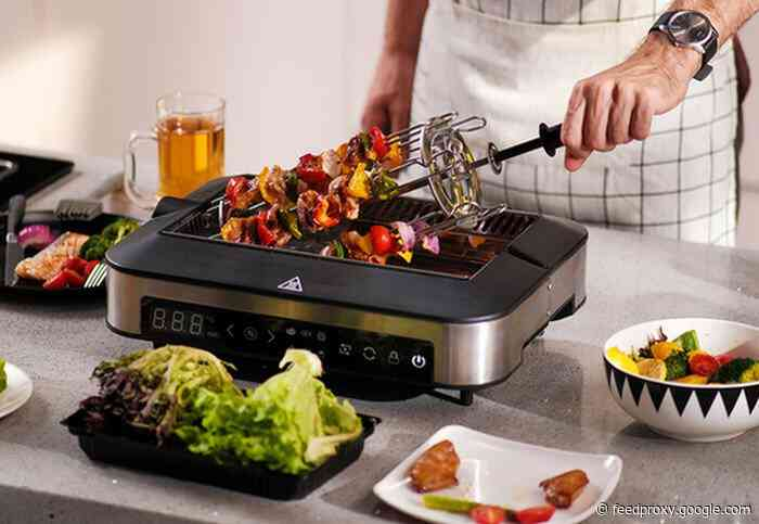 Barbechef lets you grill indoors without the smoke