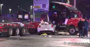 1 dead, 2 suffer life-threatening injuries after crash in Brampton