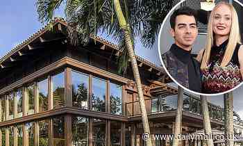 Sophie Turner and Joe Jonas splash out $11million on oceanfront Miami mansion - Daily Mail