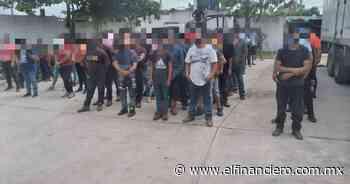Veracruz asegura a 156 migrantes, entre ellos hay menores de edad - El Financiero