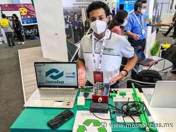 Participa Conalep Veracruz en la Feria Aeroespacial México 2021 - MÁSNOTICIAS
