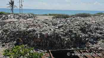 Vecinos de Isla Mujeres piden sacar la basura de la ínsula por posibles daños a la salud - PorEsto