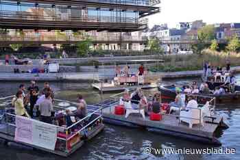 Tweede editie van Waterzooi: swingend feestje op vlottentocht via Gentse wateren