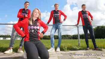 Dutch woman makes debut for men's senior side