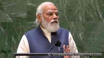 UNGA meet: PM Moodi quotes Chanakya as he calls for urgent UN reforms