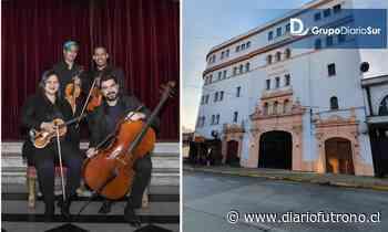 Cuarteto de Orquesta de Cámara del Teatro Municipal de Santiago hará función en el Cervantes - Diario Futrono