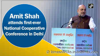 Amit Shah attends first-ever National Cooperative Conference in Delhi
