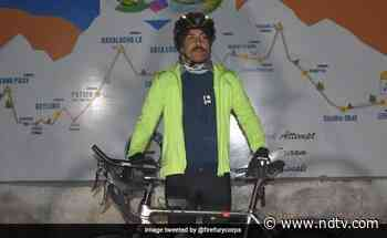 Army Officer Cycling From Leh To Manali To Set Guinness Record - NDTV