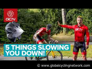5 Cycling Things That Slow You Down | Ride Faster for Free! - Global Cycling Network