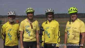 Cycling 4 Water: Cyclists ride across Canada to raise money for clean water - CTV News Atlantic