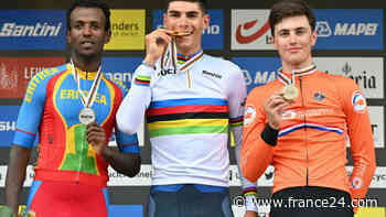 Ghirmay sets African milestone at cycling world championships - FRANCE 24