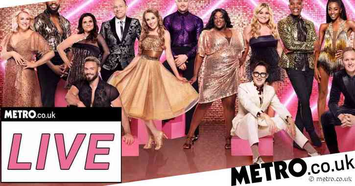 Strictly Come Dancing 2021 live: Tom Fletcher 'exhausted' as stars kick off first live show
