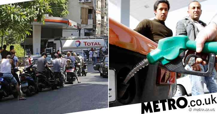 Man dies swallowing siphoned petrol as Lebanon paralysed by fuel crisis
