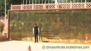 Union Minister Anurag Thakur pays tribute at Kargil War Memorial in Dras