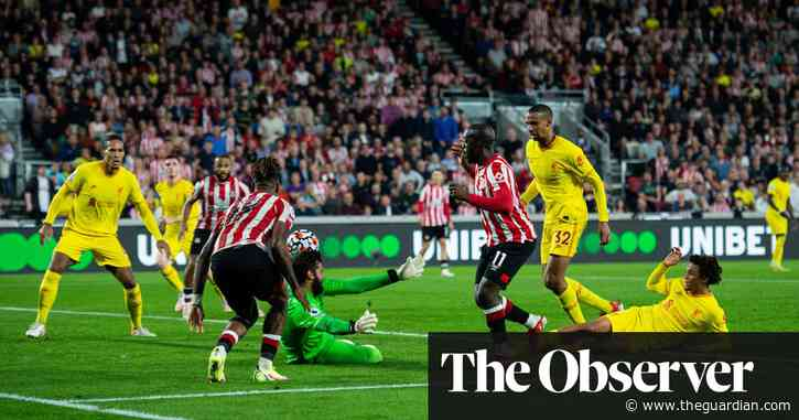 Liverpool held to thrilling draw at Brentford after Wissa grabs his chance