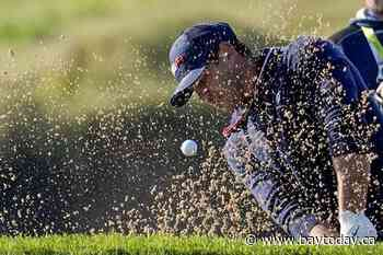 Koepka gets no relief at Ryder Cup; saves par anyway