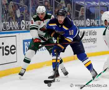 Sens acquire forward Zach Sanford from Blues for forward Brown and conditional pick