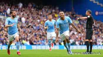 Gabriel Jesus wins battle of strikers as Man City beat Chelsea