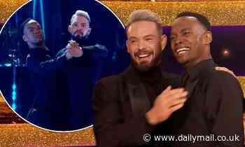 Strictly Come Dancing: John Whaite and Johannes Radebe raise the roof with all-male performance