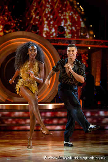 Blackburn's AJ Odudu wows judges with stunning Jive on Strictly