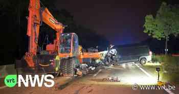 Dodelijk verkeersongeval met bandenkraan in Mol - VRT NWS