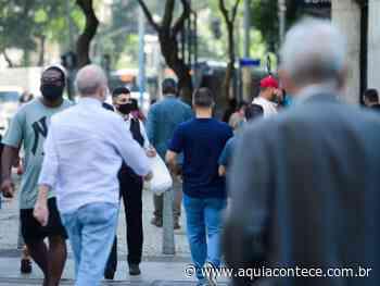 Covid-19: Rio de Janeiro tem queda de 30% no número de óbitos por SRAG - Aqui Acontece