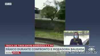 Troca de tiros termina com mulher baleada no Rio de Janeiro - Band Jornalismo