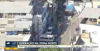 Polícia Militar faz operação no Morro do Turano - G1