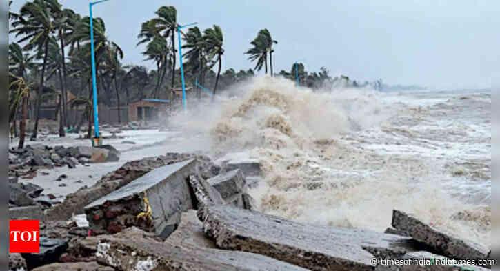 Cyclone Gulab set to hit Andhra Pradesh, Odisha today