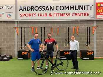 Charity cycle: Mark completes his own 'Tour de Scotland' for sports hub - Ardrossan and Saltcoats Herald
