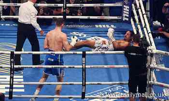 Lenin Castillo 'responsive' after being rushed to hospital following brutal knockout