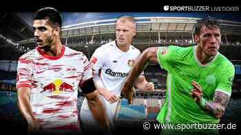 Bundesliga-Konferenz im Liveticker: RB Leipzig, Bayer Leverkusen, VfL Wolfsburg und mehr - Sportbuzzer