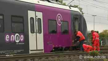 Entgleister Zug in Wolfsburg sorgt für Verspätungen - NDR.de