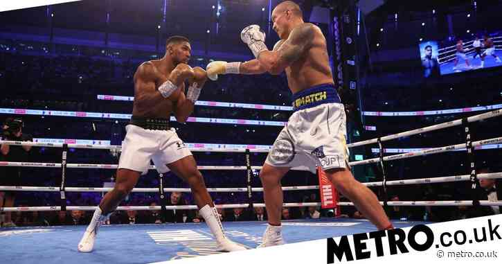 Anthony Joshua loses world heavyweight titles after boxing masterclass from Oleksandr Usyk