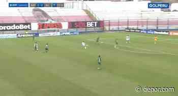 Tras error en salida de Campos: Fergonzi se perdió el 1-0 en el Alianza Lima vs. Alianza Atlético [VIDEO] - Diario Depor