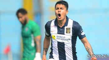 Concha anotó el 1-0 para Alianza Lima sobre Melgar con un soberbio disparo - Libero.pe