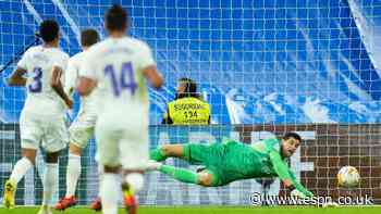 Real Madrid's Courtois critical of ref's no-call