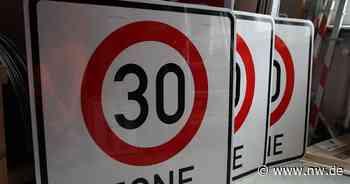 Fast überall in Herford: Die Stadt wird zur Tempo-30-Zone - Neue Westfälische