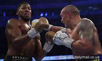 Anthony Joshua LOSES his world heavyweight title belts to Oleksandr Usyk