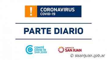 Parte de Salud Pública sobre coronavirus Nº 569 - 25/09 - SI SAN JUAN