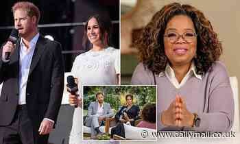Harry had secret meeting with Oprah director in London hotel room sneaking away from royal family