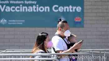 Australia passes COVID vaccine milestone - Armidale Express