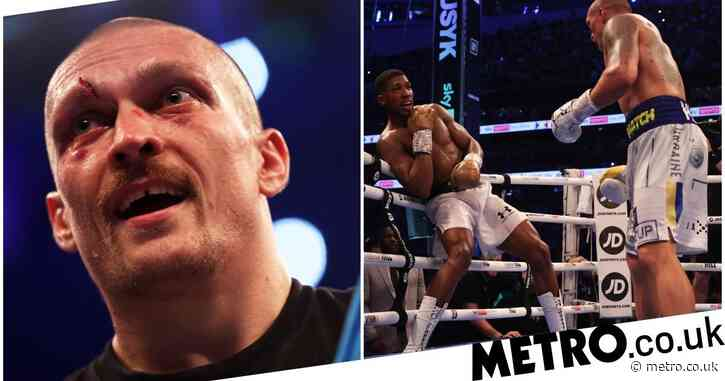 'Nothing special' – Oleksandr Usyk reacts to Anthony Joshua performance after becoming new world champion